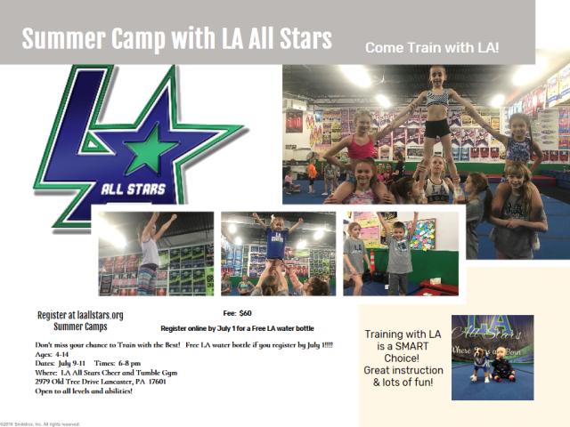 LA All Stars Camp 2019